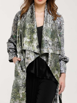 Kimono Silk Duster
