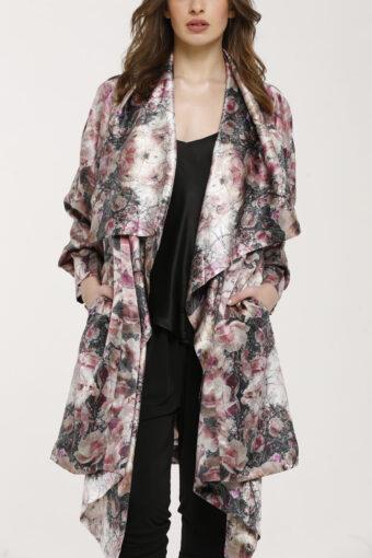 Magnolia Kimono Silk Duster