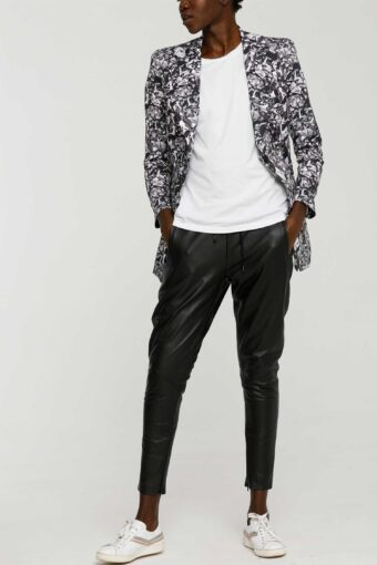 Comfort Luxe Slouch Leather Pant