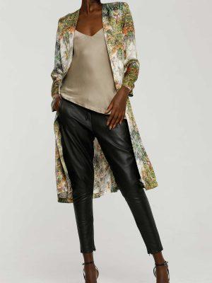 Tailored Silk Duster