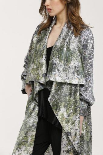 Ground Kimono Silk Duster