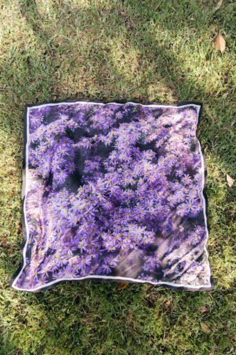 Purple Aster Scarf