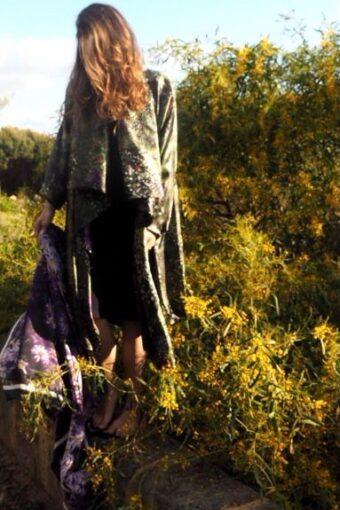 Kimono Umbrian Fields